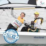 'TOP 50 2016  42  Seguin wins third gold Australia dominate' logo