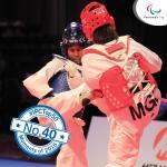 'Top 50 2016  No 40 Big year for Para taekwondo athletes  square' logo