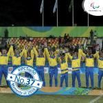 'IPC Top 50 moments 2016  37  Ukraine take lastchance Paralympic gold' logo