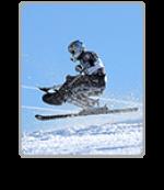 Para alpine skiing icon