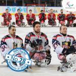 'Top 50 moments 2016  28  Para Ice Hockey' logo