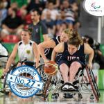 'Top 50 moments 2016  No27 USA seals double gold Spain surprises' logo
