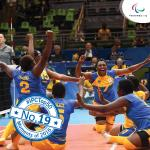 'Top 50 moments 2016  19  Rio sitting volleyball moments' logo