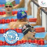 'IPC Top 50 moments 2016  18  swimming' logo
