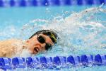 Mary Fisher of New Zealand competes in the Women's 100m Freestyle S11 final on day 8 of the Rio 2016 Paralympic Games
