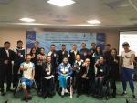 Journalists at the media workshop in Astana, Kazakhstan