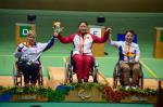 Gold medallist Cuiping Zhang at Rio 2016