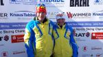 Ukraine's Paralympic champions Oleksandra Kononova and Grygorii Vovchynskyi married in 2011.  Both are competing at the 2017 World Para Nordic Skiing Championships in Finsterau, Germany.