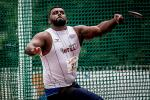 Brazil's Thiago Paulino improved his own discus F57 world record on 21 April 2017 with a throw of 48.04m.