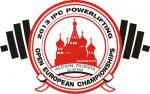 logo of the 2013 IPC Powerlifting Open European Championships