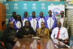 Namibia Para athletes receive crucial funds ahead of London 2017