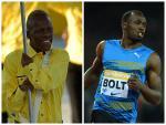 Tevaughn Thomas and Usain Bolt