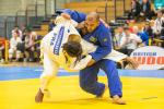 A judoka throws down his opponent