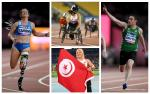 four Para athletes compete at their sports