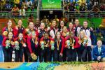 USA women's sitting volleyball team