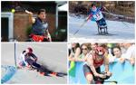 four Para athletes compete in skiing, tennis and triathlon