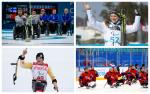 Para athletes competing in winter sports