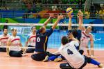 Sitting volleyball at the Rio 2016 Paralympic Games.