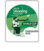 Chateauroux 2018 World Shooting Para Sport World Cup logo