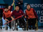 The Chinese wheelchair curling team won the country´s first Winter Paralympic gold in PyeongChang