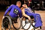 a pair of Para dancers in action