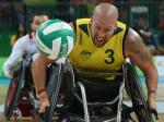 male wheelchair rugby player Ryley Batt