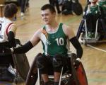 male wheelchair rugby player Thomas Moylan
