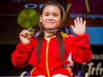 China´s Lingling Guo wins gold at Kitakyushu 2018