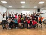 Participants of a Para dance sport introductory coaching course in Chinese Taipei