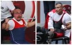 male powerlifters Juan Carlos Garrido and Neil Garcia Trelles