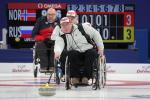 male wheelchair curler Andrey Smirnov