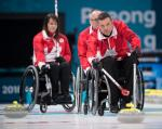 male wheelchair curler Mark Ideson