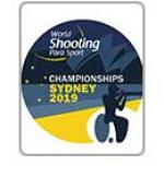 Logo of the Sydney 2019 World Shooting Para Sport Championships
