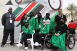 Saudi Arabia's female athletes dream big