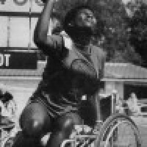 Merice Ndloru Athlete of Paralympic Games Arnhem 1980, Netherlands