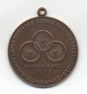 Medals Heidelberg 1972