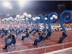 Opening Ceremony Paralympic Games Barcelona 1992.