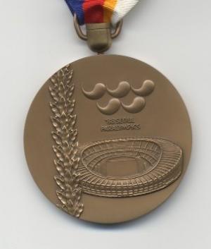 Medal Paralympic Games Seul 1988