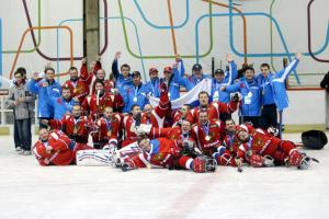 Russia ice sledge hockey team - Paralympic Athlete of the Month November 2012