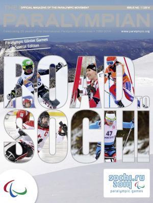 Paralympian February 2014 cover