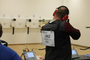 Visually Impaired Shooting test event