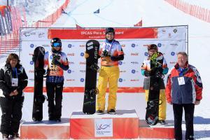 Bibian Mentel wins test event