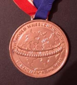 Medal Stoke Mandeville & New York 1984