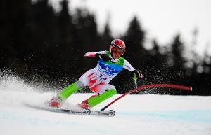 Markus Salcher competing