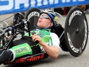 Mark Rohan - Paralympic Athlete of the Month September 2011