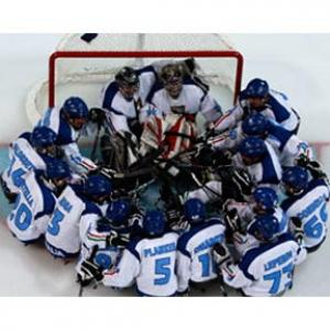 Italy Ice Sledge Hockey Team - Paralympic Athlete of the Month February 2011