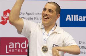 Itzhak Mamistvalov - Paralympic Athlete of the Month April 2012