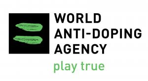 World Anti Doping Agency's Logo.