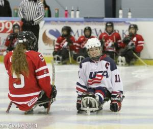 Kelsey Diclaudio - Paralympic Athlete of the Month November 2014