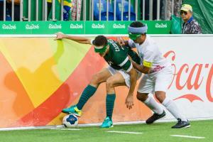 Football 5-a-side sports icon - Rio 2016